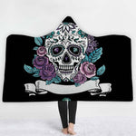 Lannidaa The Nightmare Before Christmas Blanket Fleece Hooded Blankets For Children Adults On Sofa Bed Winter Warm Throws Cover