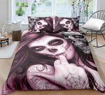 Unique Designed Skull Bedding Set Popular Hot Duvet Cover Set