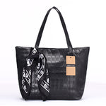Annmouler Designer Women Handbag Ladies Pu Leather Bags Handbag Female Portable Shoulder Bag Skull Printed Handbags Hobos Tote