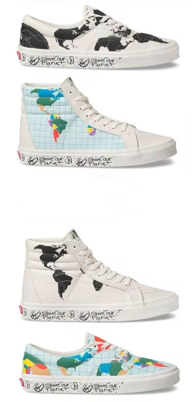 vans save our planet shoes