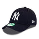 ACCESORII UNISEX NEW ERA Sapca Copii 9Forty Mlb League Basic New York Yankees Albastru - vgeneration.ro