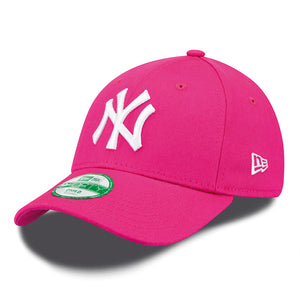 NEW ERA Sapca Copii 9Forty Mlb League Basic New York Yankees Hpink/Wht Copii Multicolor - Vgeneration