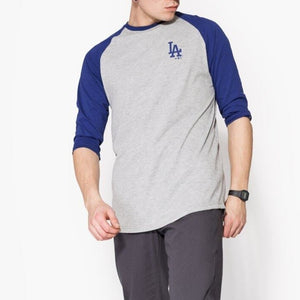 Bluza MLB 3/4 Raglan Los Angeles Dodgers Multicolor