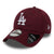 ACCESORII BARBATI NEW ERA Sapca Dry Switch 9Forty Los Angeles Dodgers Burgundy - vgeneration.ro