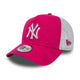 ACCESORII FEMEI NEW ERA Sapca League Essential Trucker New York Yankees Roz - vgeneration.ro