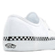 Adult FEMEI, BARBATI VANS Tenisi Ua Authentic (Checkerboard Foxing) Alb - vgeneration.ro