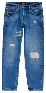 BARBATI SUPERDRY Pantaloni Oversized Tapered Jean Denim - vgeneration.ro