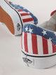 FEMEI, BARBATI VANS Tenisi Slip-On Checkerboard American Flag Multicolor - vgeneration.ro