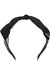 Eva Franco Accessory Black Bow Headband