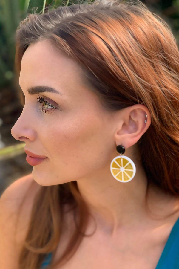 Eva Franco Accessory Citrus Earring