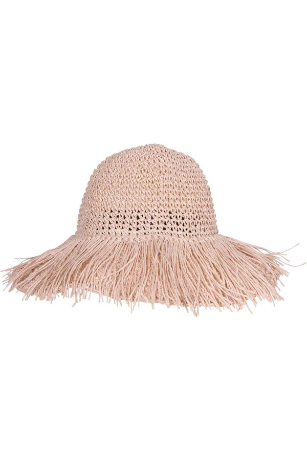Eva Franco Accessory Pink Straw Hat