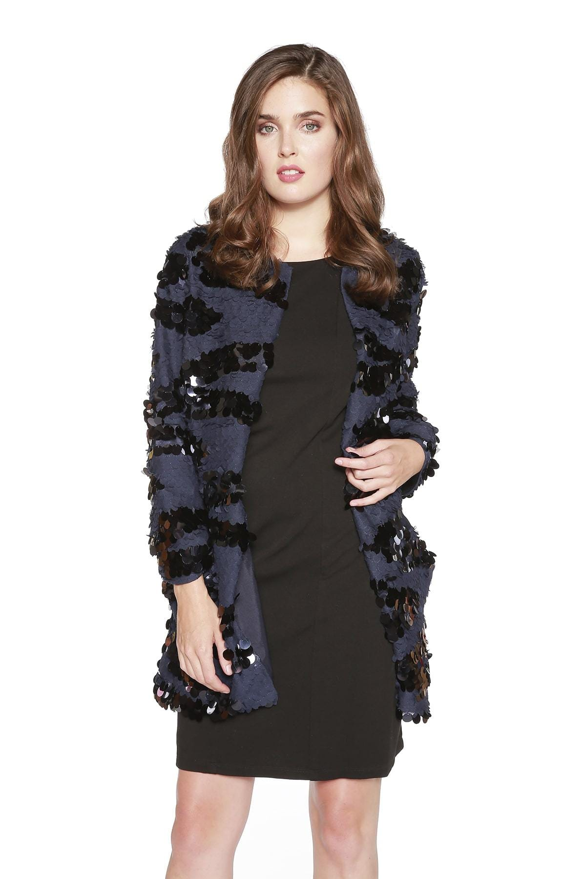 Eva Franco Coat Imogen Coat - Midnight Navy