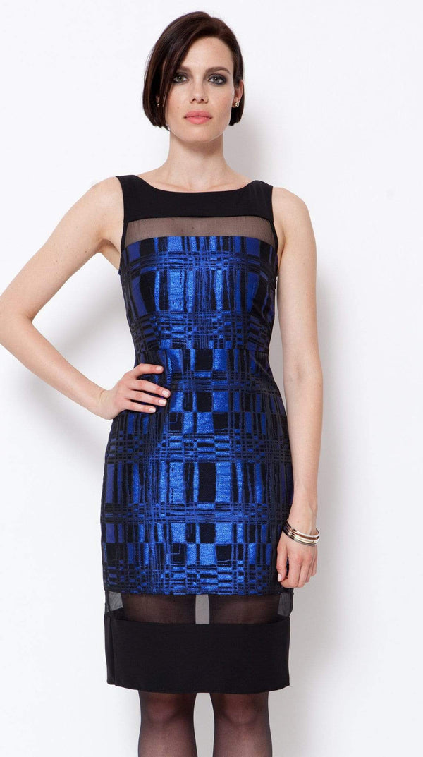 Afton Dress- Blue Eclipse - Eva Franco