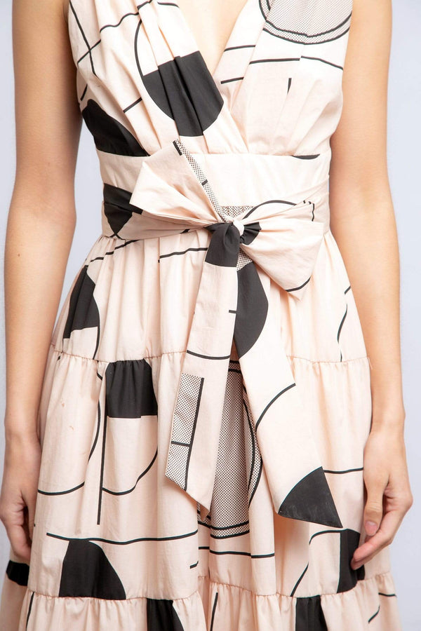 Archer Dress - Blush Derby - Eva Franco