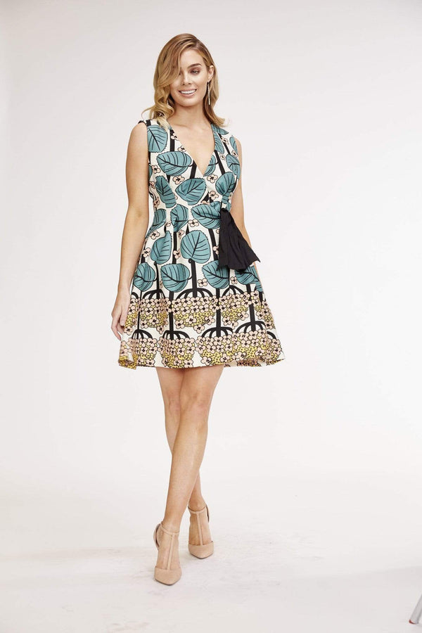 CAROLINE DRESS - SHASTA DAISY - Eva Franco