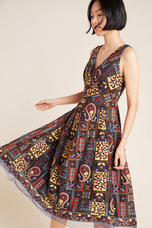 Charlotte Dress in Florika Paisley