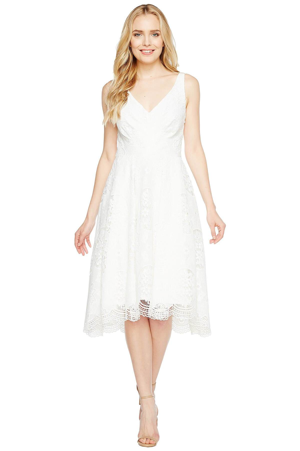 Eva Franco Dress Charlotte Dress - White