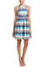 Eva Franco Dress Mandy Dress - Blue Stripe