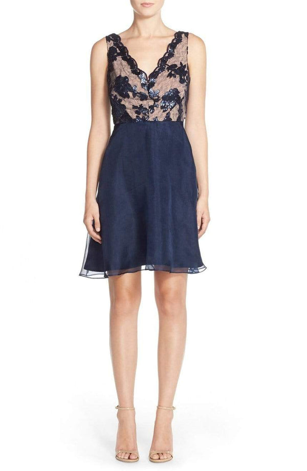 Maven Dress - Navy Sky - Eva Franco