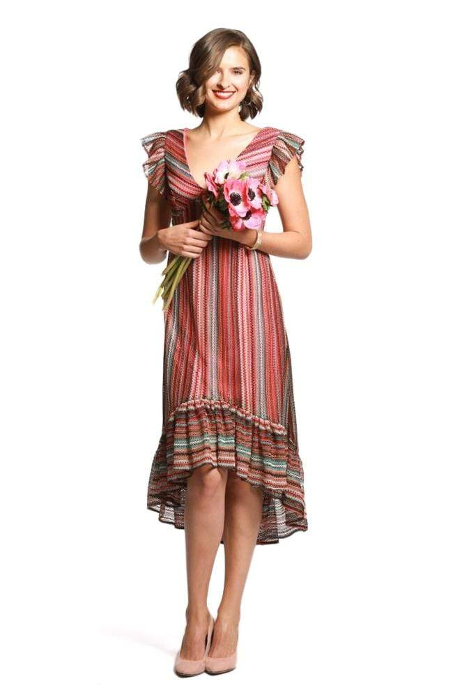 Eva Franco Dress Mina Dress - Cuba Stripe