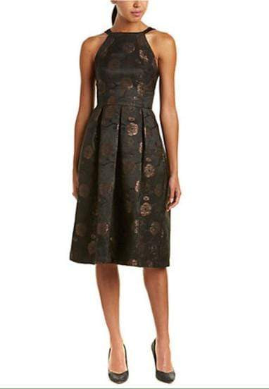 Eva Franco Dress Nova Dress - Black/Taupe