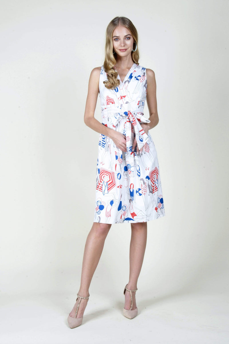 Olivia Dress in Gelato Swirl - Eva Franco