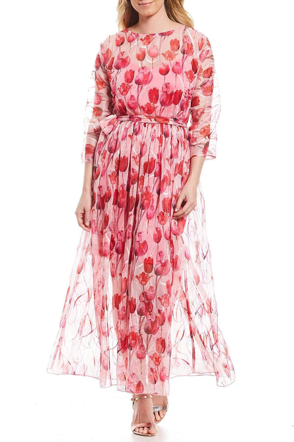 Pink Tulip Maxi Dress - Eva Franco