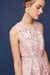 Eva Franco Dress Samantha Dress - Palm Lace in Blush