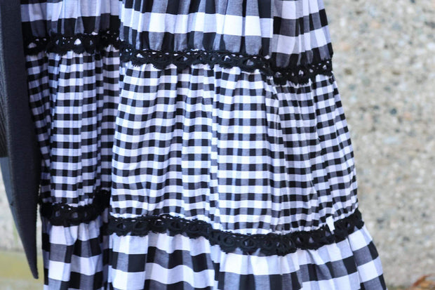 Serendipity Maxi Dress - Checkmate 1