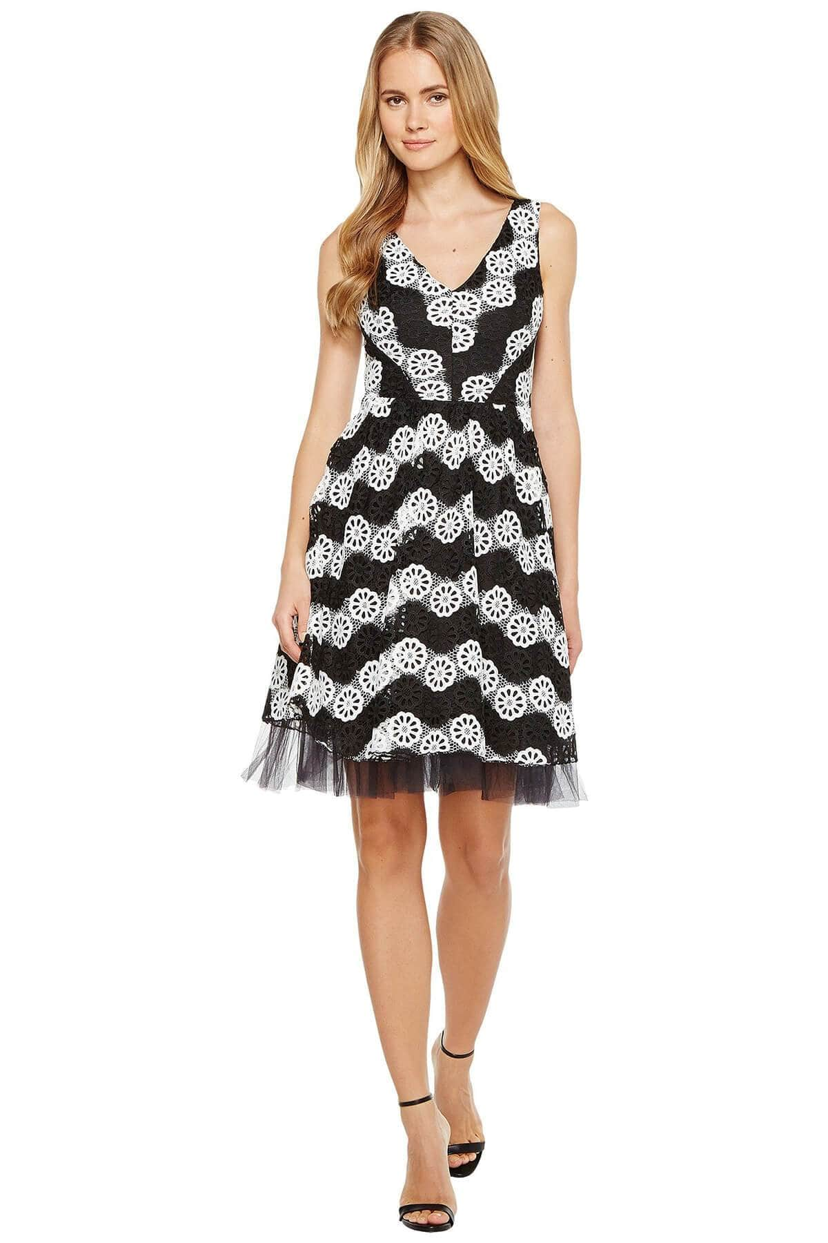 Eva Franco Dress Valeria Dress - B&W