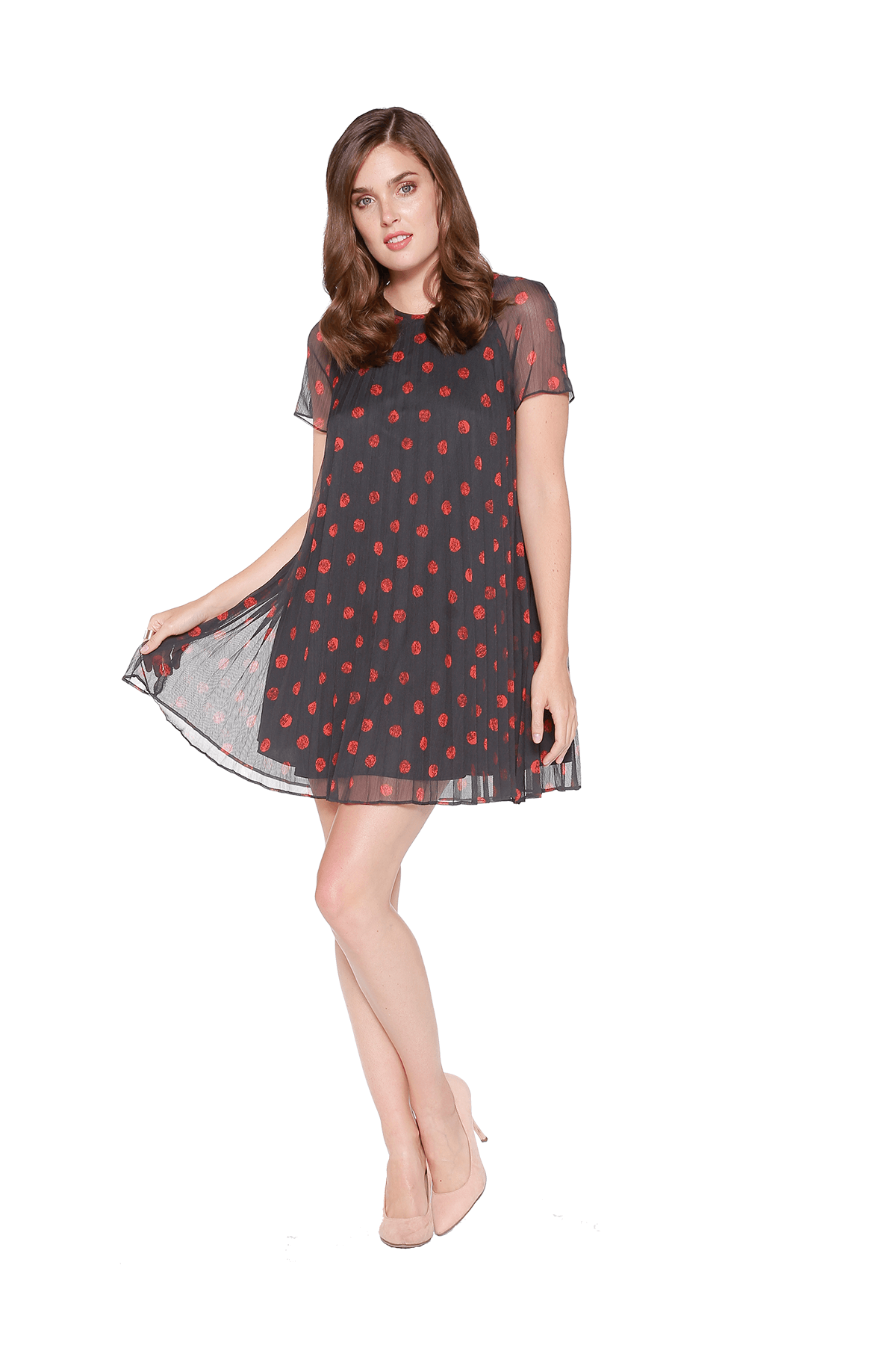 Eva Franco Dress Widow Dress - Chester Dot