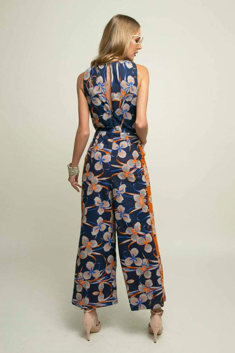 Kerra Jumpsuit - Orange Zest - Eva Franco