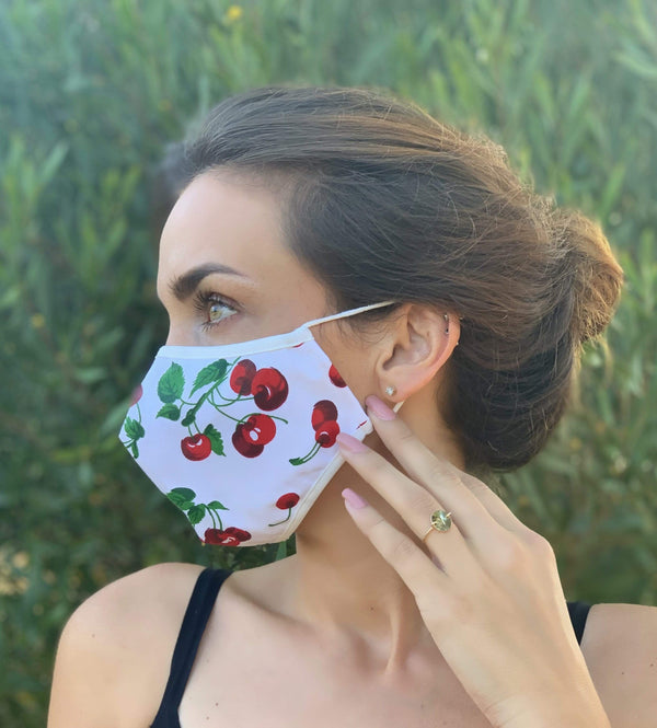 Cherries Adult Mask - Eva Franco