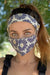 Eva Franco Mask Daisy Floral Adult Mask w/ Matching Headband