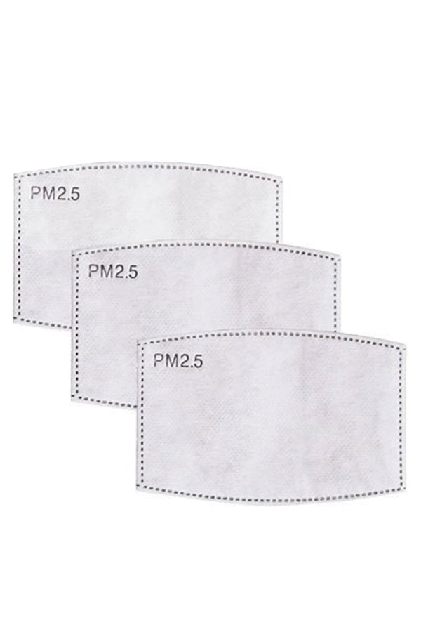 Disposable Mask Filters 3 pieces - Eva Franco