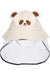 Eva Franco Mask Taupe Bear Kids Hat W/ Detachable Face Shield