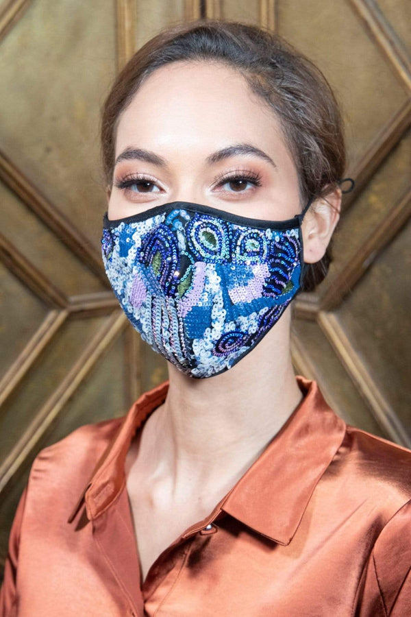 Twinkle City Sequins Adult Mask