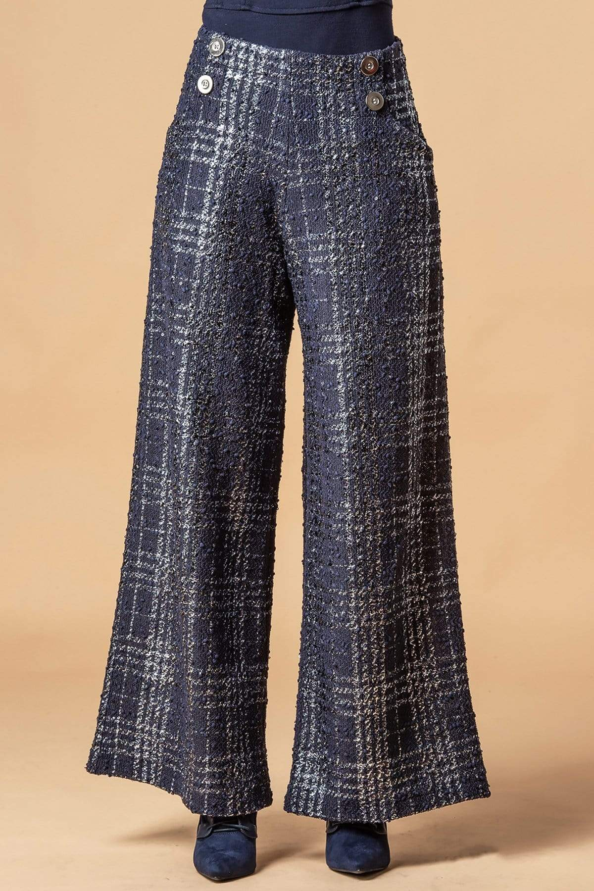 Eva Franco Pants Hepburn Pant - Midnight Paris