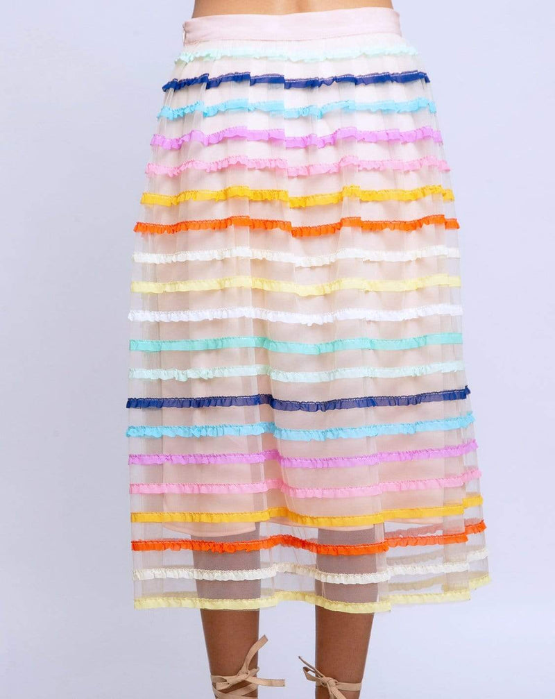 Aluna Skirt in Rum Sunset - Eva Franco