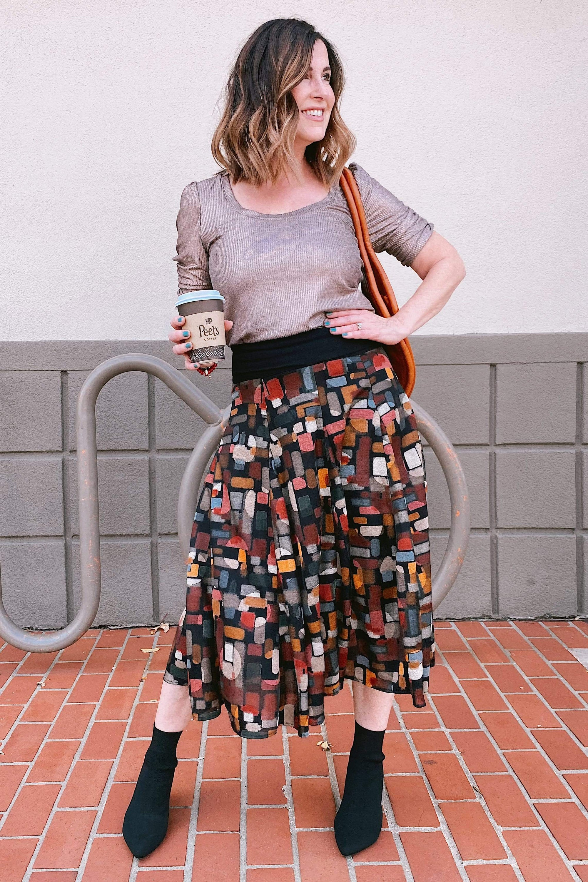 Eva Franco Skirt Gidget Skirt in Rock Creek