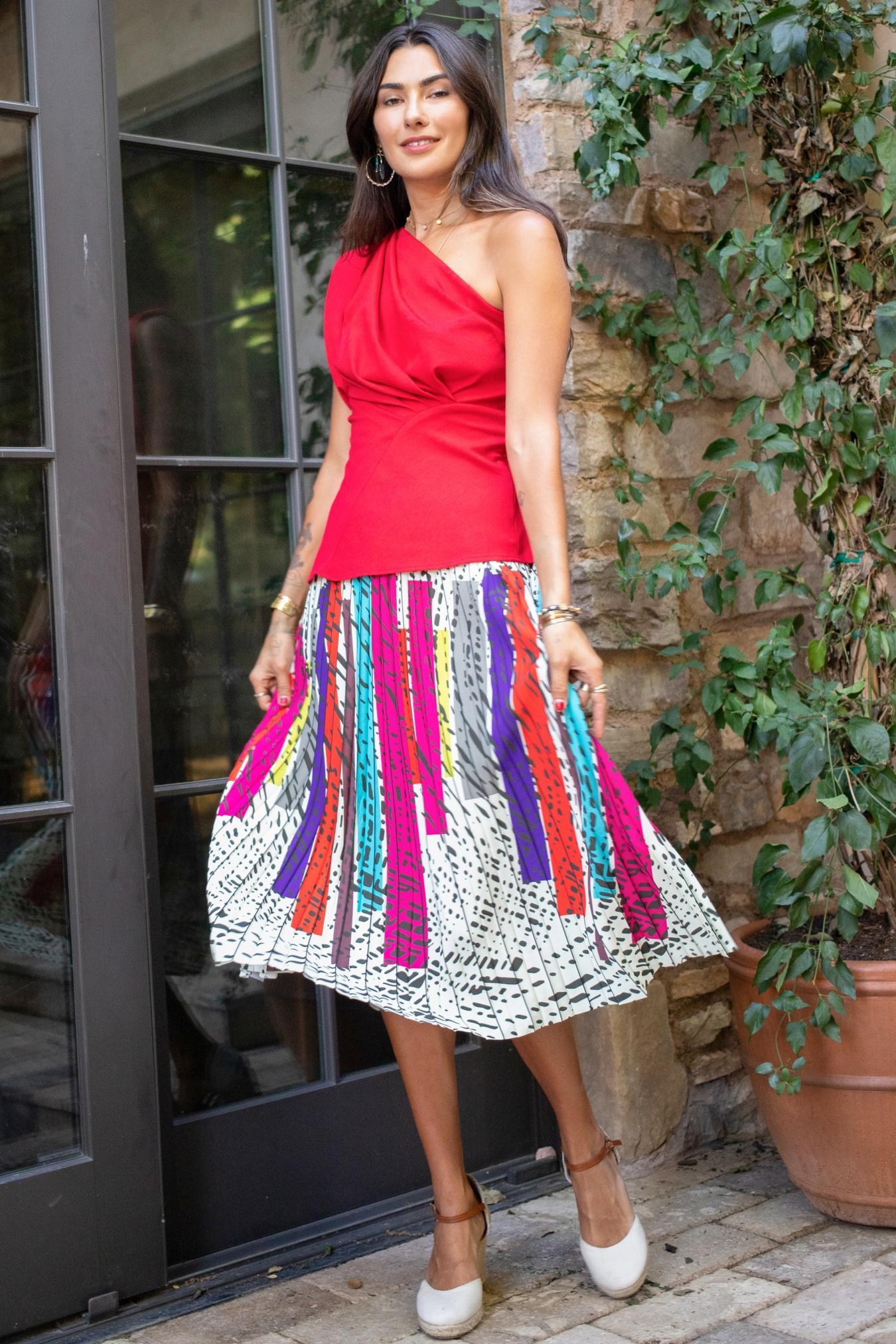 Eva Franco Skirt Ingrid Skirt - Battenburg
