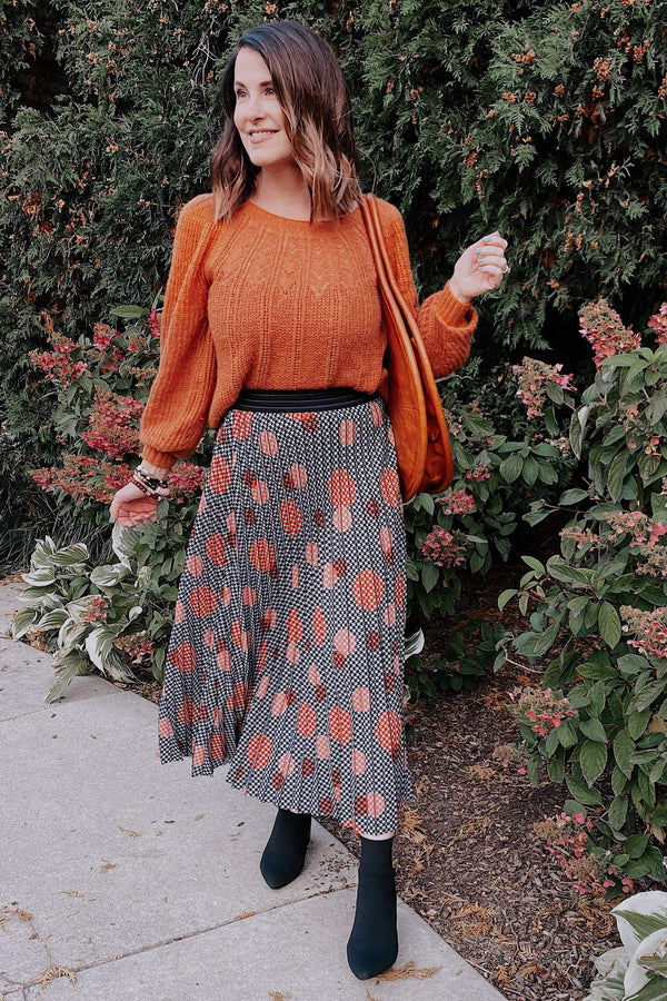 Ingrid Skirt in Congo Dot