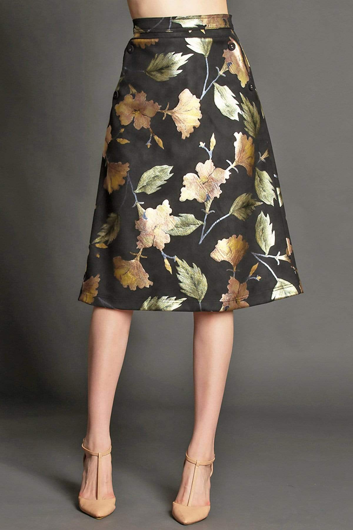 Eva Franco Skirt Mindy Skirt - Carmen's Rose