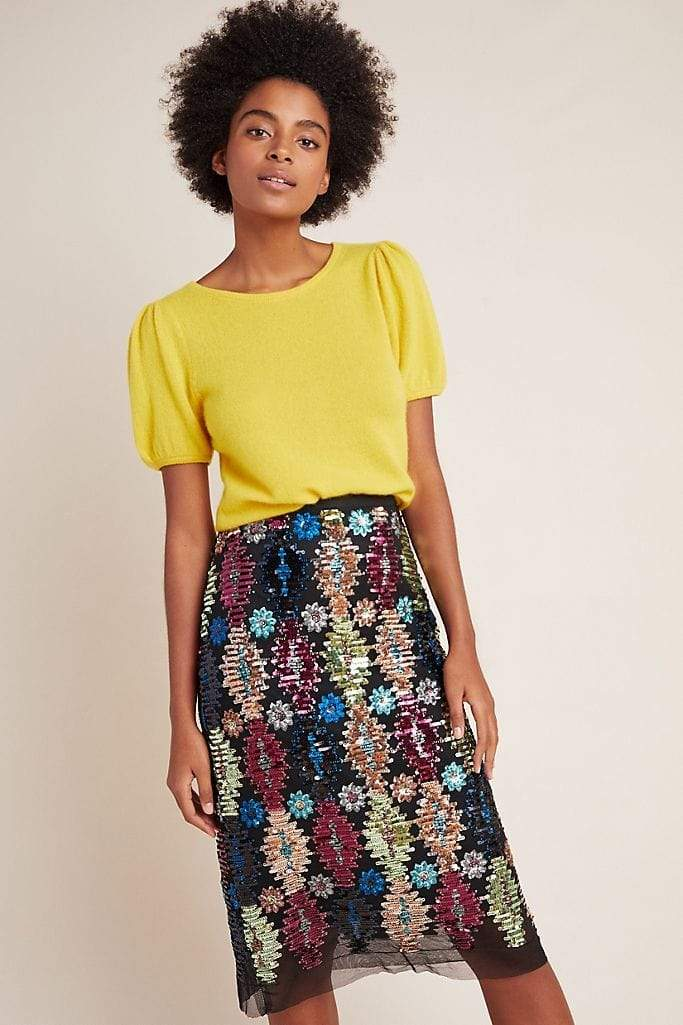 Eva Franco Skirt Ophelia Sequin Skirt