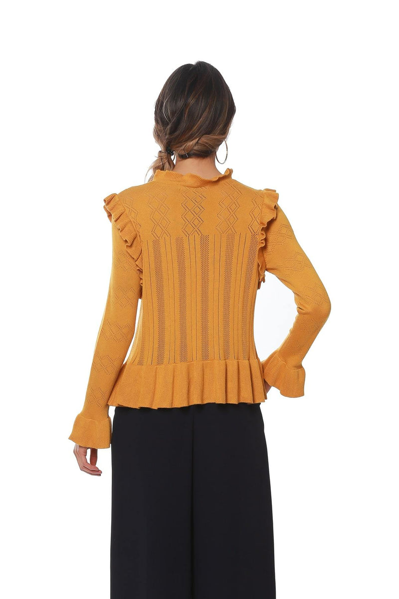 Gail Sweater - Marigold - Eva Franco