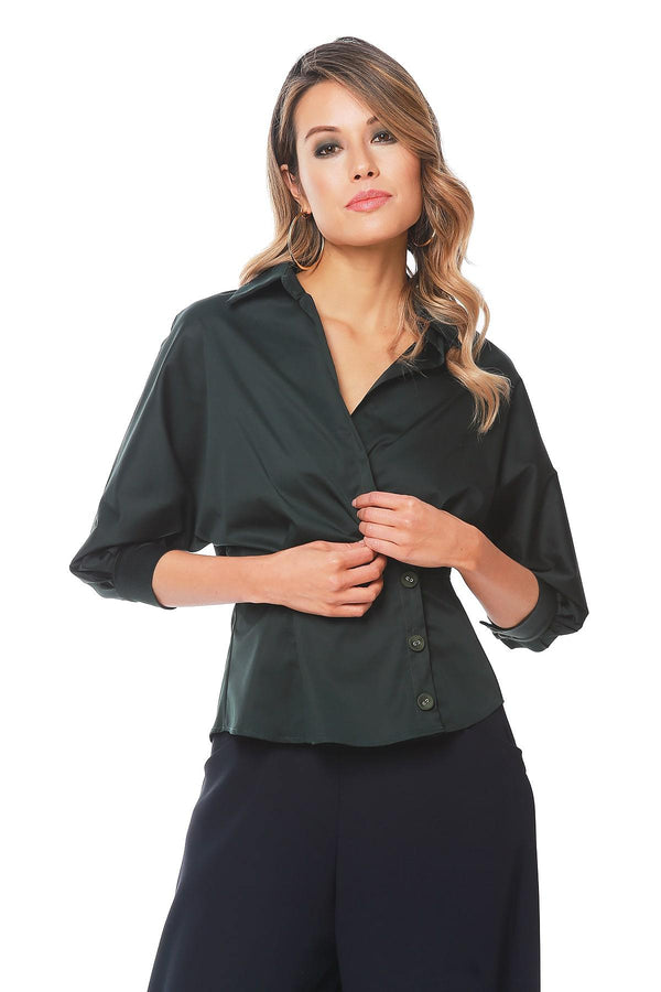 Albright Shirt - Moss - Eva Franco