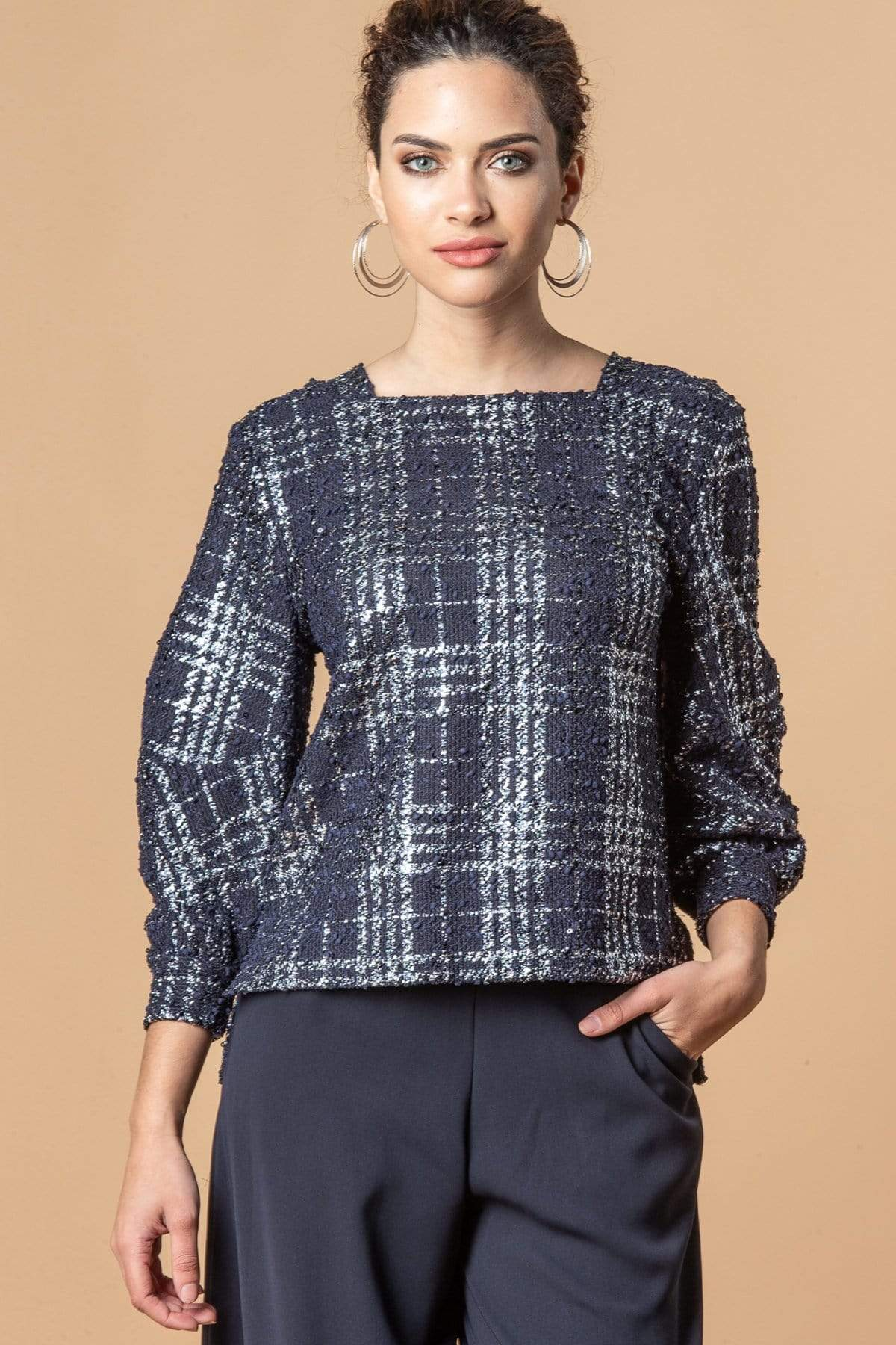 Eva Franco Top April Top - Midnight Paris