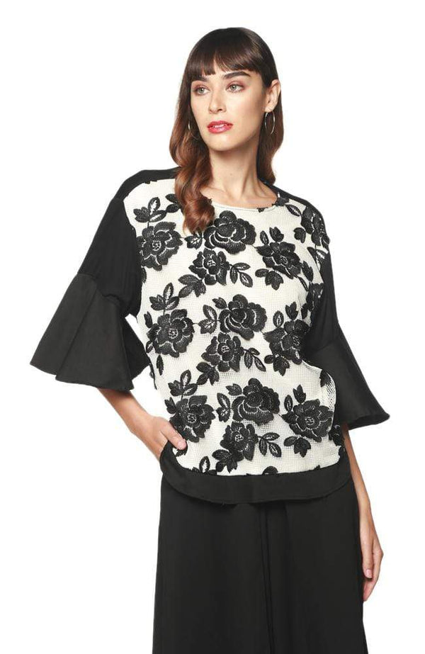 Eva Franco Top Gigi Top - Bat Orchid