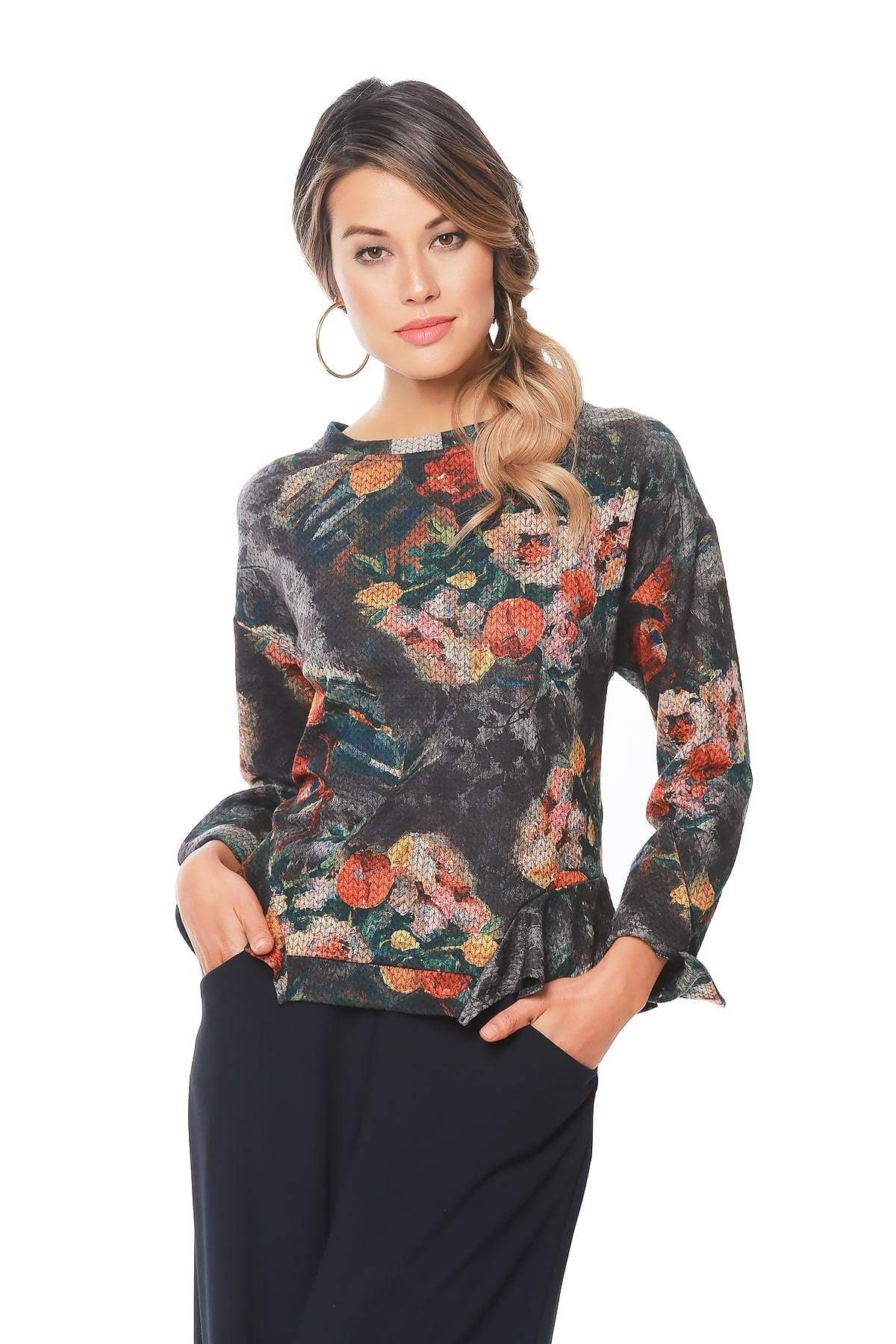 Eva Franco Top Martine Top in Monet
