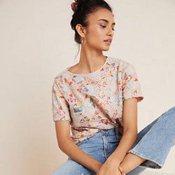Rosita Top in Tequila Sunrise
